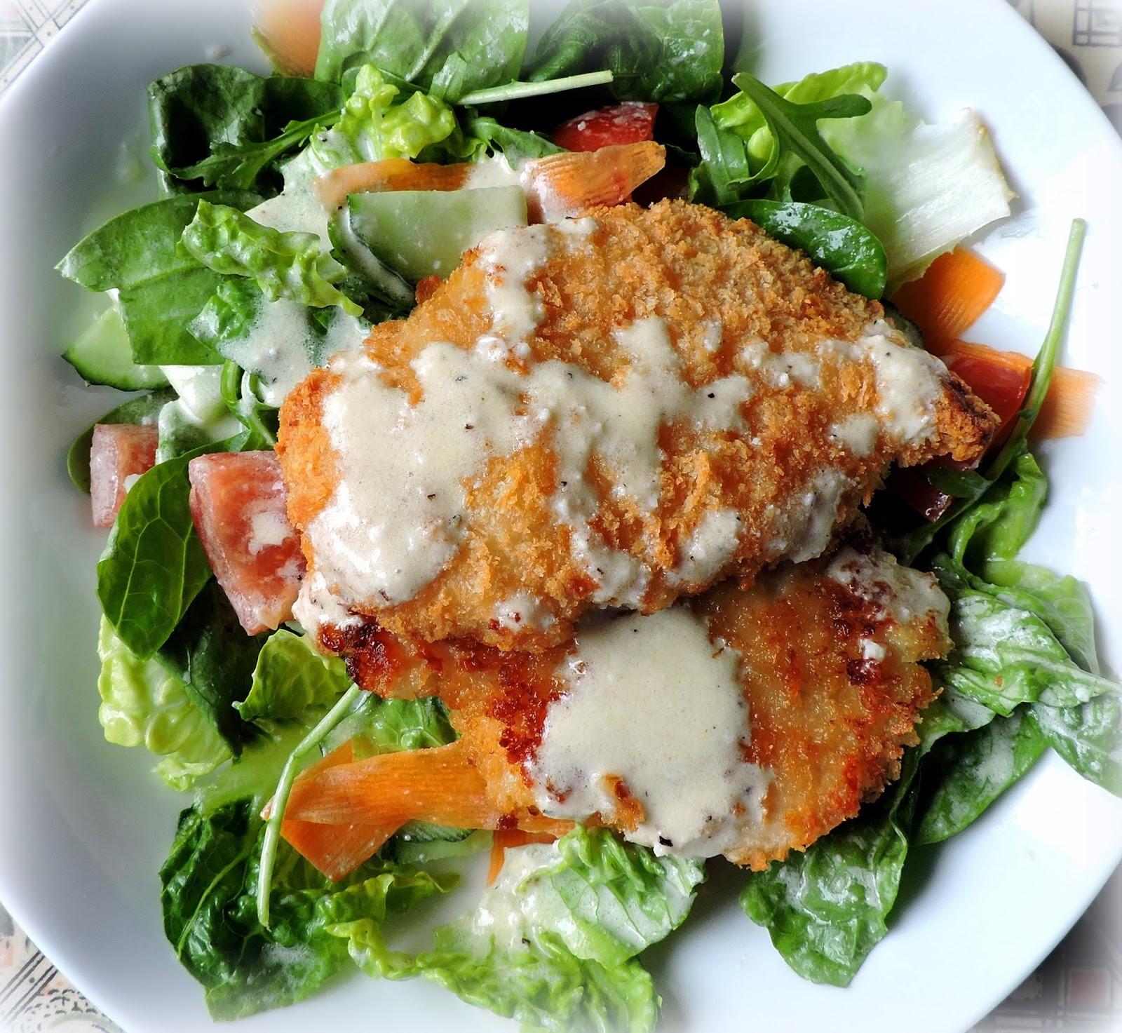 Crispy Chicken Salad  The English Kitchen Crispy Chicken Salad