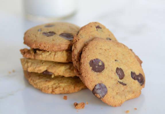 Crispy Chocolate Chip Cookies  Crispy Chocolate Chip Cookies