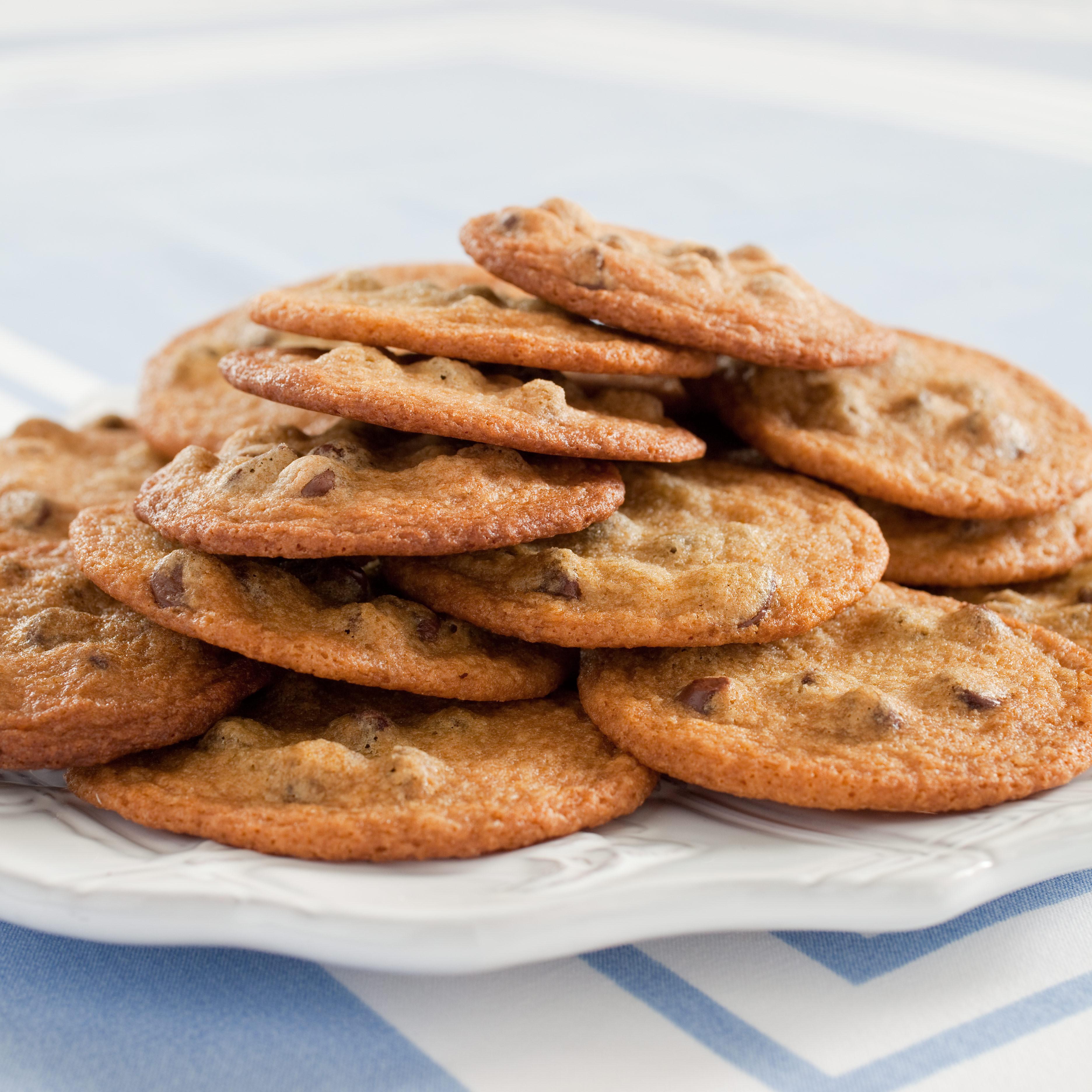 Crispy Chocolate Chip Cookies  Thin Crispy Chocolate Chip Cookies Recipe Cook s