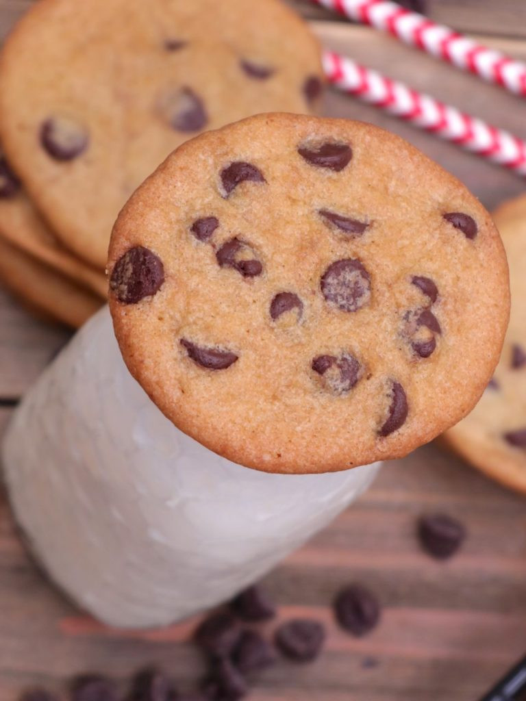 Crispy Chocolate Chip Cookies  Thin & Crispy Chocolate Chip Cookies Recipe