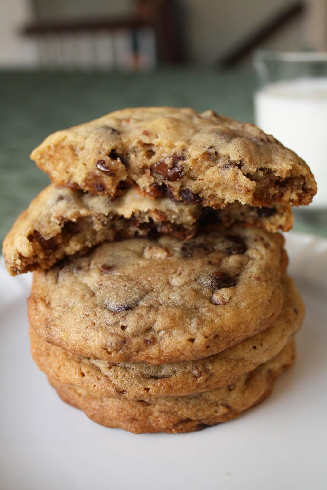 Crispy Chocolate Chip Cookies  Wife or Something Like It Crispy Chocolate Chip Cookies