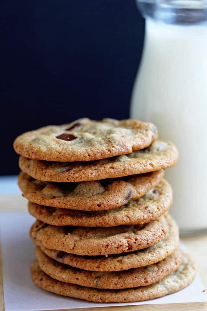 Crispy Chocolate Chip Cookies  Crispy Chocolate Chip Cookies Recipe Grandbaby Cakes