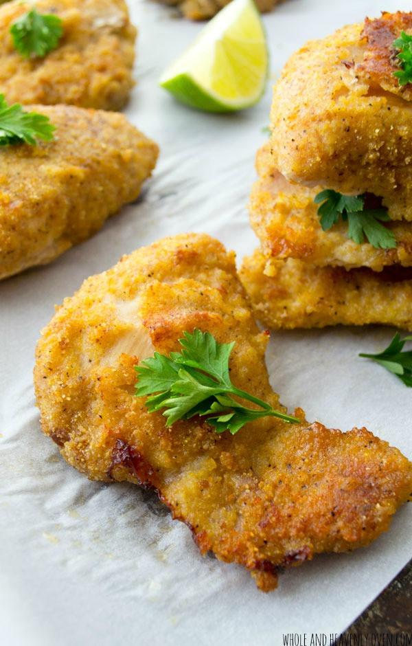 Crispy Fried Chicken Tenders  Oven Fried Crispy Chicken Tenders