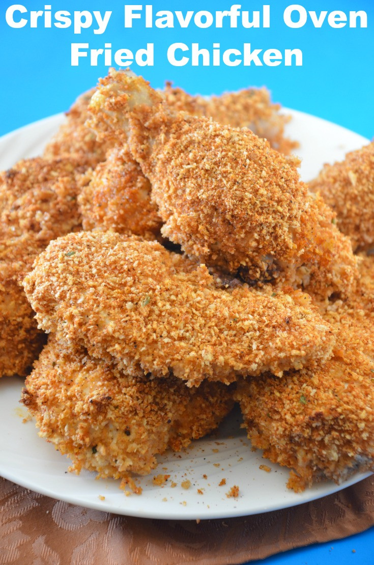 Crispy Oven Fried Chicken Recipe  HOW TO MAKE DELICIOUS CRISPY BAKED FRIED CHICKEN