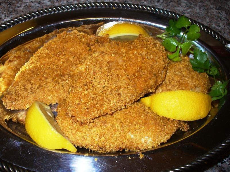 Crispy Oven Fried Chicken Recipe  Easy Crispy Oven Fried Chicken With Quick Slaw Recipe by