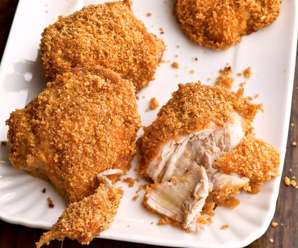 Crispy Oven Fried Chicken Recipe  crispy oven fried chicken