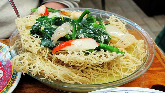 Crispy Rice Noodles  Crispy Seafood Rice Noodles