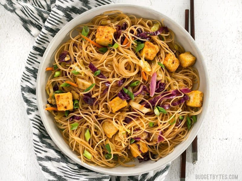 Crispy Rice Noodles  crispy fried rice noodles