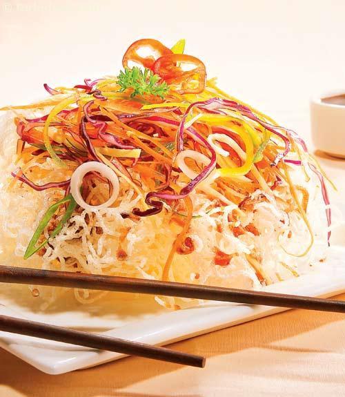 Crispy Rice Noodles  Crispy Rice Noodle Salad recipe Noodle Recipes