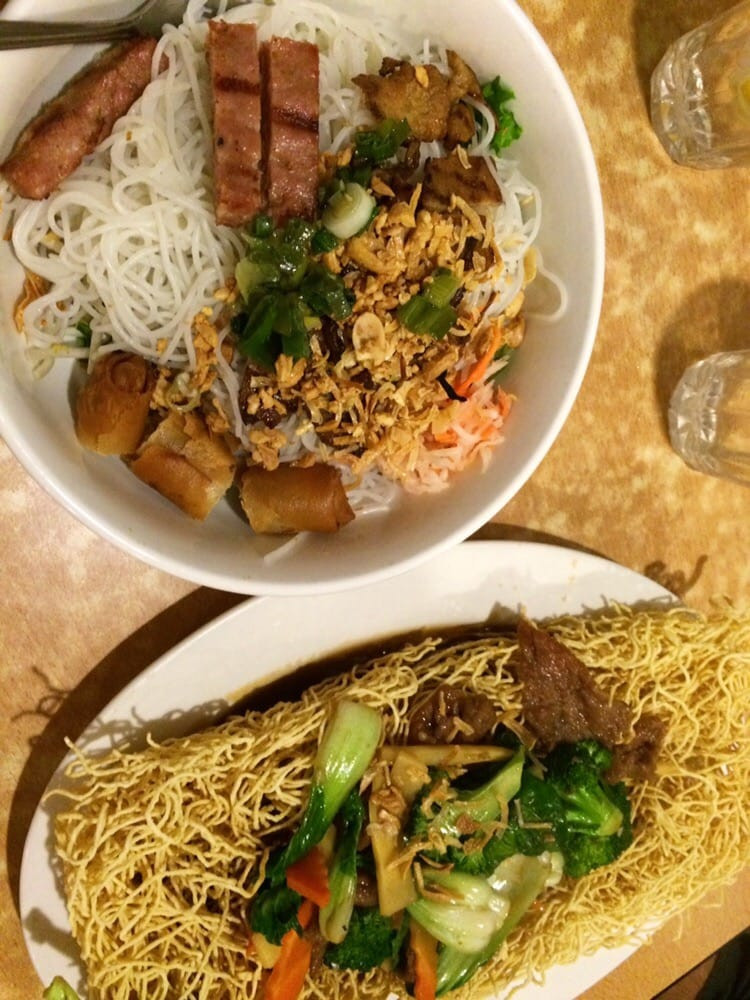 Crispy Rice Noodles  Rice vermicelli noodles and crispy fried noodles Yelp