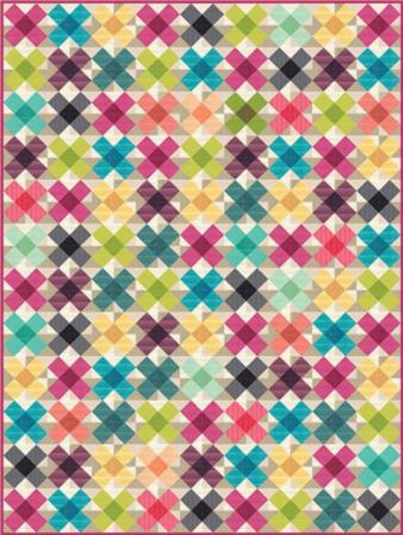 Criss Cross Applesauce  Criss Cross Applesauce Quilt Pattern by by ModernStudioFabrics