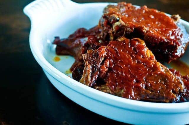 Crock Pot Bbq Pork Chops  Slow Cooker BBQ Pork Chops Add a Pinch