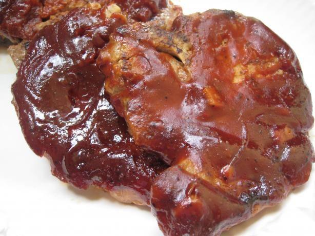 Crock Pot Bbq Pork Chops  Nif s Crock Pot BBQ Pork Chops