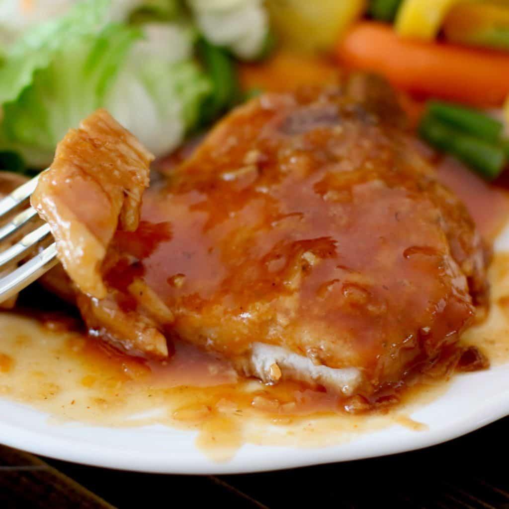 Crock Pot Bbq Pork Chops  Crock Pot BBQ Pork Chops The Country Cook