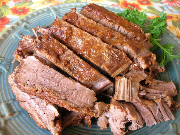 Crock Pot Beef Brisket  Smoky Barbecue Beef Brisket Crock Pot Recipe Food