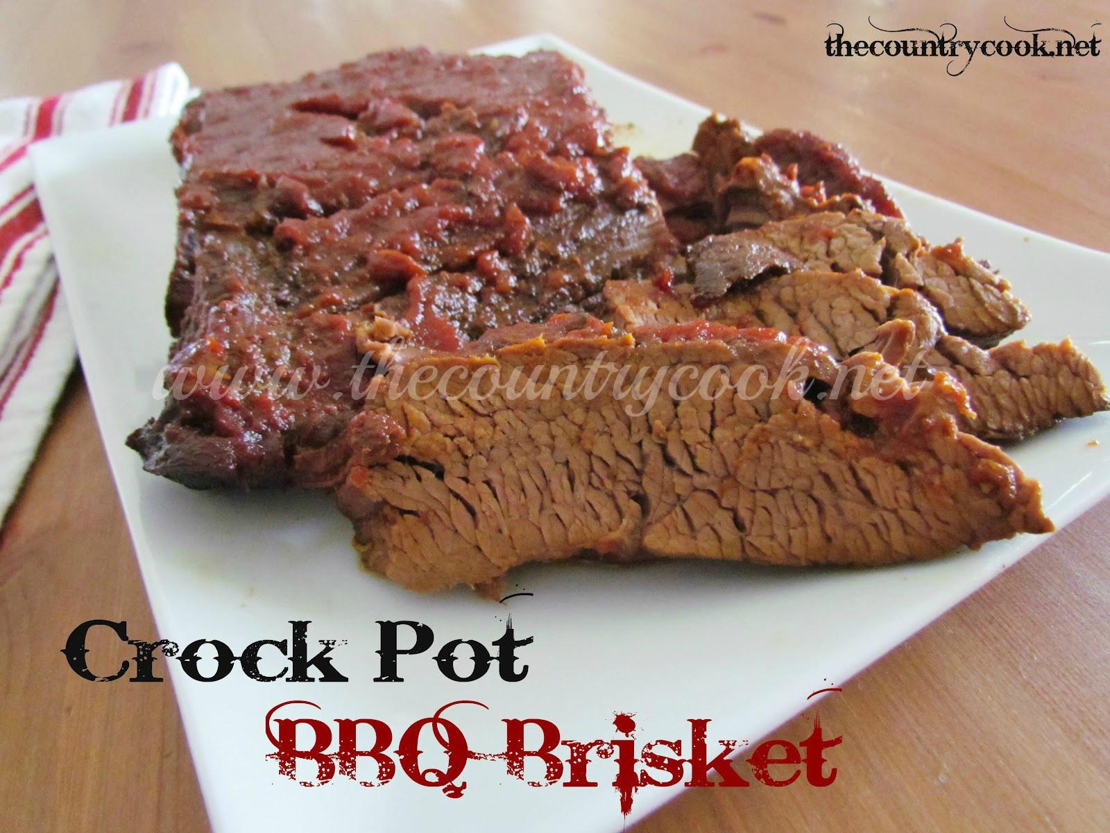 Crock Pot Beef Brisket  Ingre nts