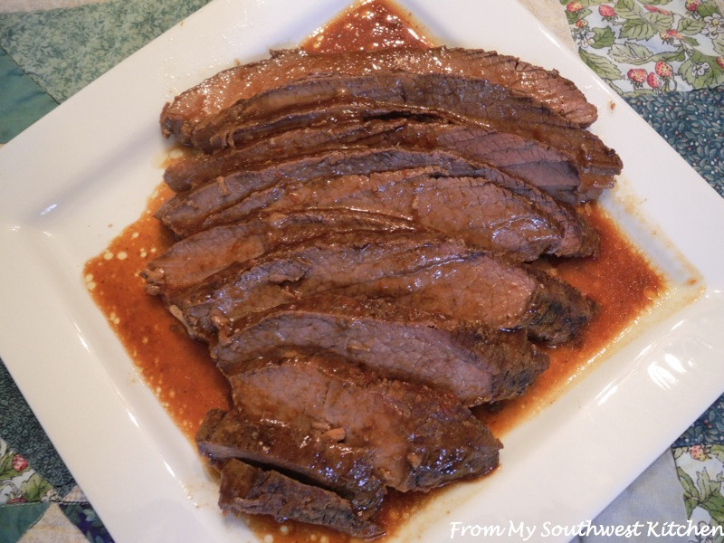 Crock Pot Beef Brisket  From My Southwest Kitchen Crock Pot Beef Brisket