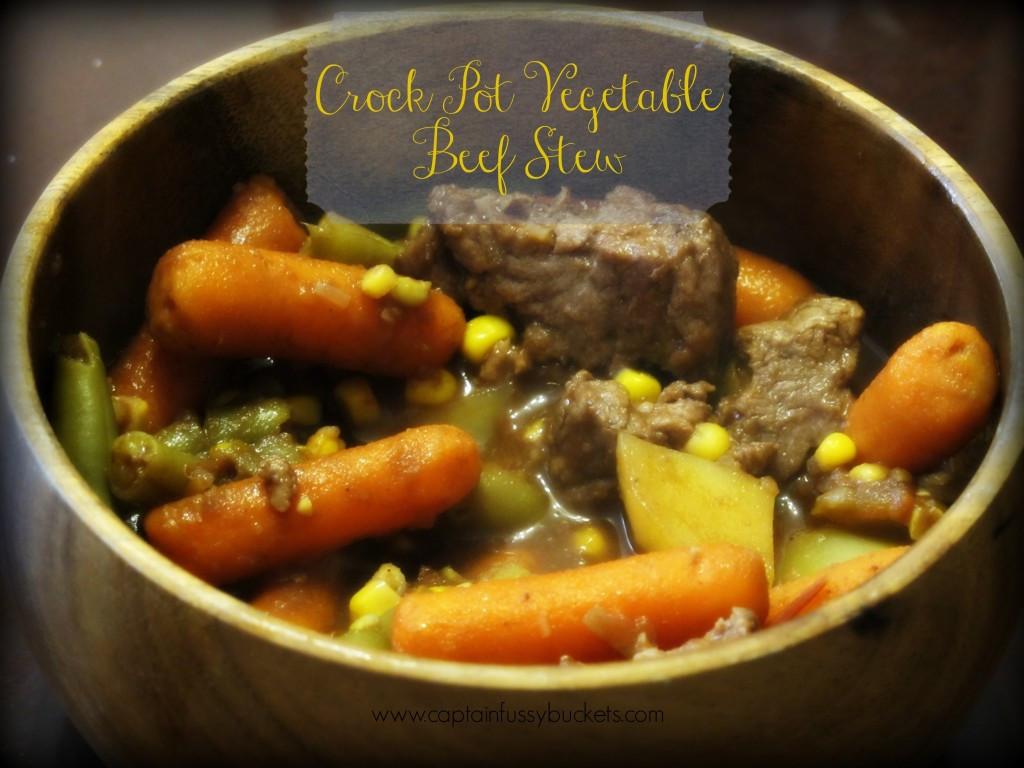 Crock Pot Beef Stew Recipes  Crock Pot Ve able Beef Stew Recipe