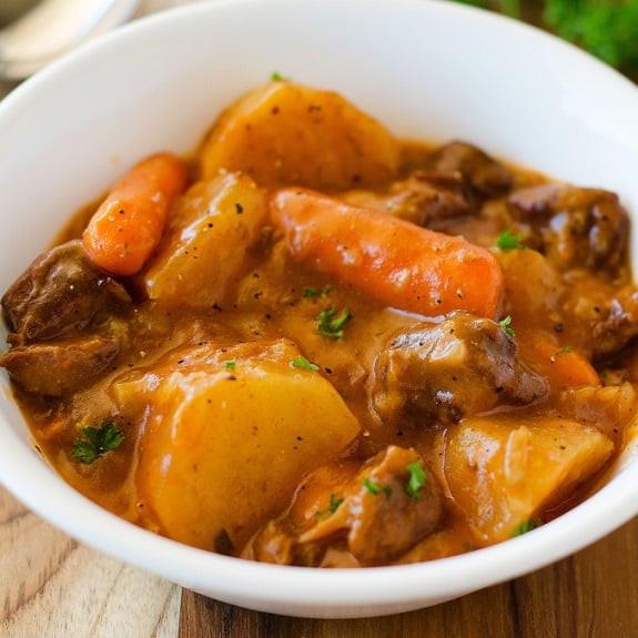 Crock Pot Beef Stew Recipes  Crock Pot Basic Beef Stew Recipe