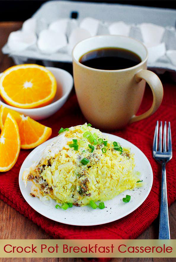Crock Pot Breakfast Casseroles  The BEST Slow Cooker Breakfast Casseroles Slow Cooker or