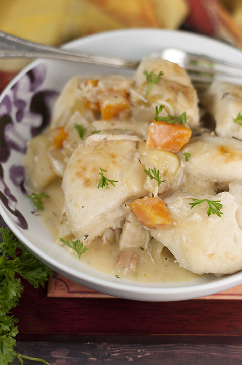 Crock Pot Chicken And Dumplings  Crock Pot Chicken and Dumplings