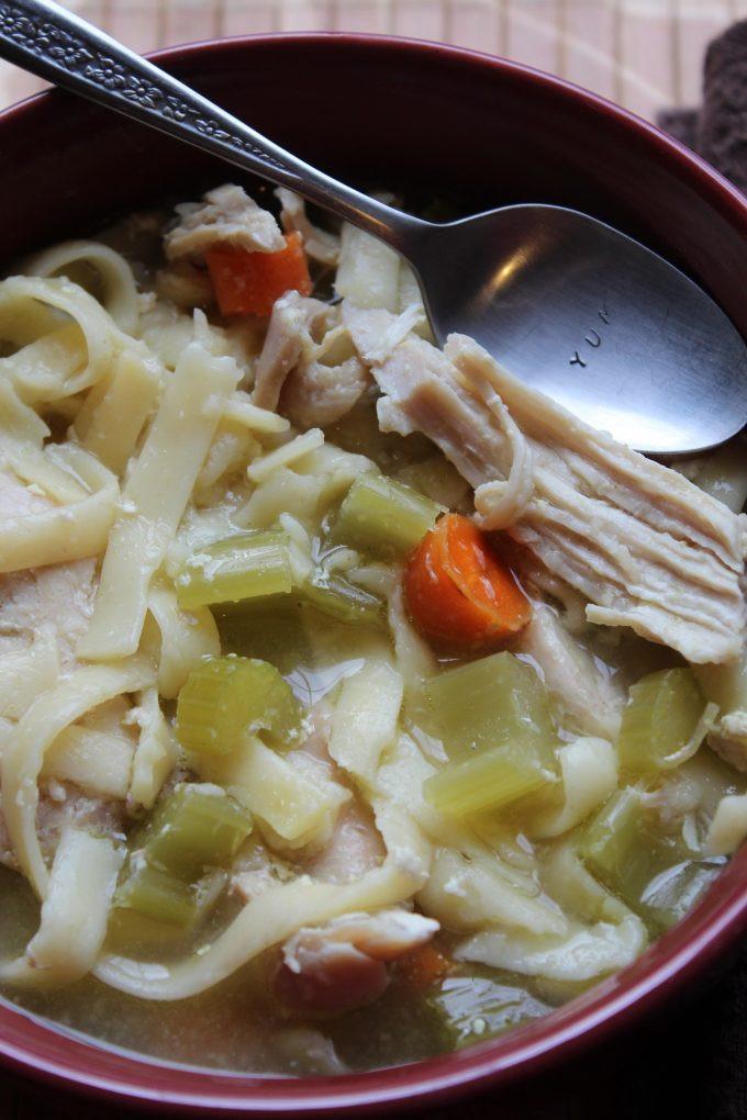 Crock Pot Chicken Soup  Crock Pot Chicken Noodle Soup