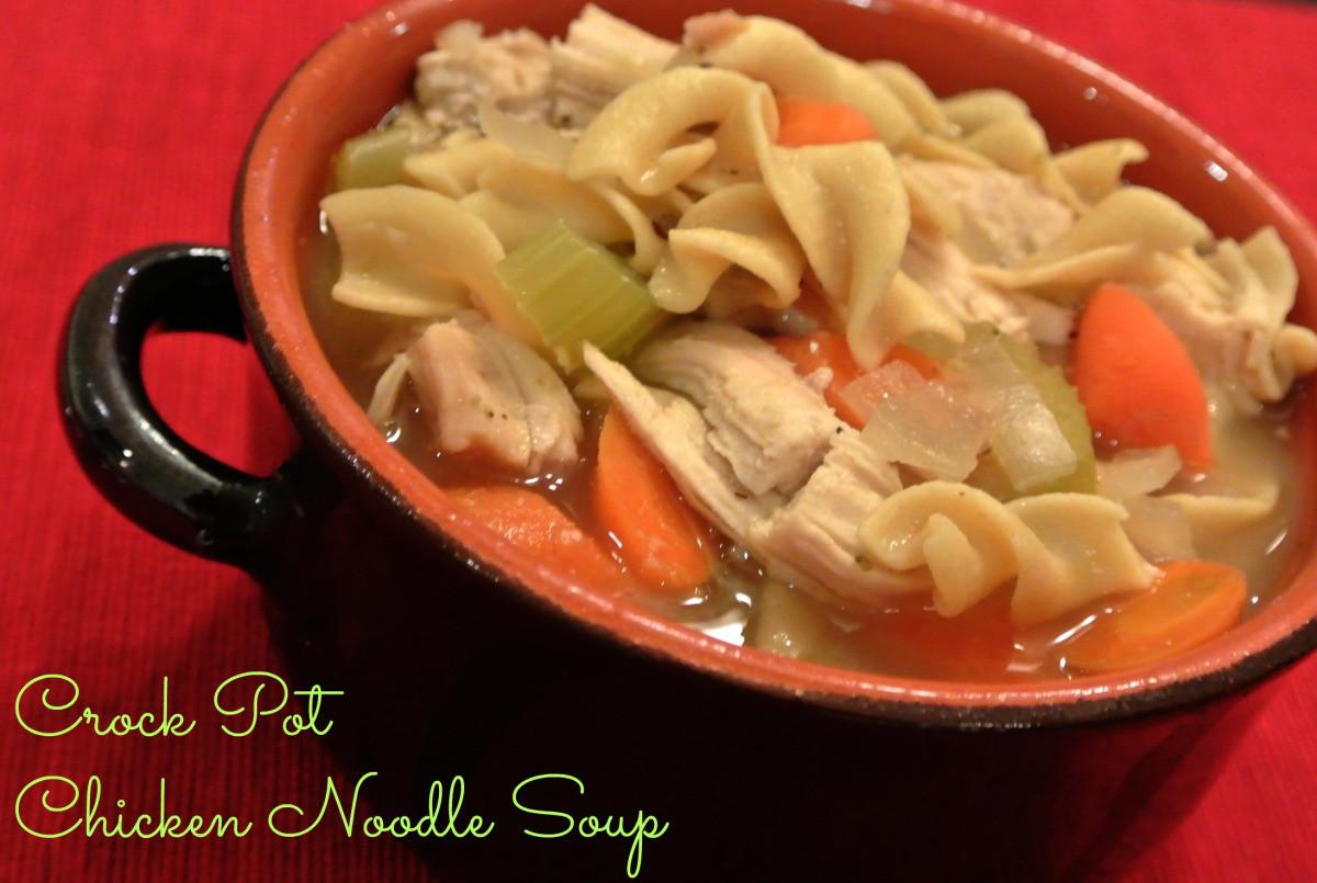 Crock Pot Chicken Soup  Crock Pot Chicken Noodle Soup – CPC 4