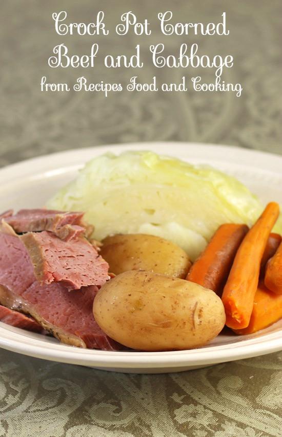 Crock Pot Corn Beef And Cabbage Recipes  Crock Pot Corned Beef and Cabbage