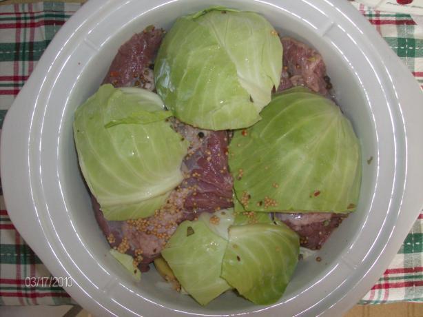 Crock Pot Corn Beef And Cabbage Recipes  Crock Pot Corned Beef And Cabbage Recipe Food