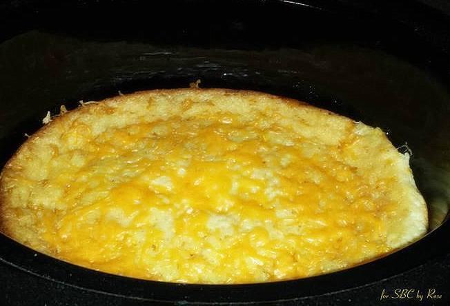 Crock Pot Corn Casserole  Crockpot Corn Casserole
