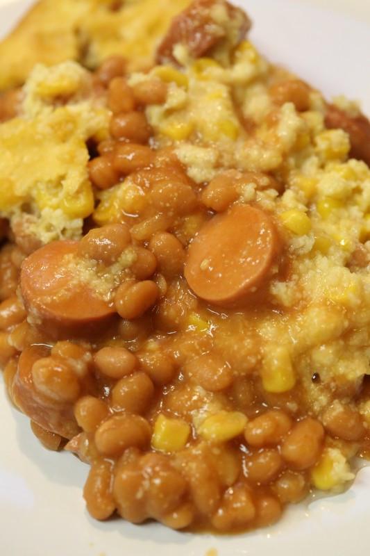 Crock Pot Corn Casserole  Crock Pot Corn Dog Casserole Recipe