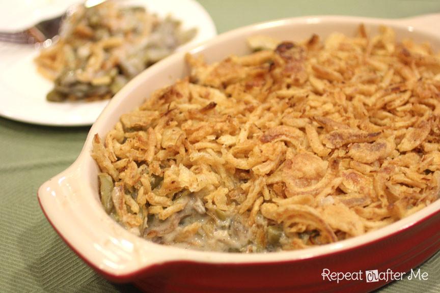 Crock Pot Green Bean Casserole  Crock Pot Green Bean Casserole Repeat Crafter Me