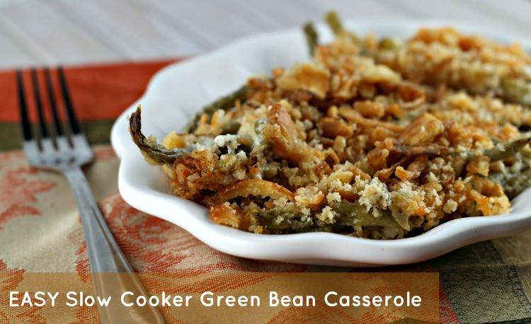 Crock Pot Green Bean Casserole  Crock Pot Green Bean Casserole