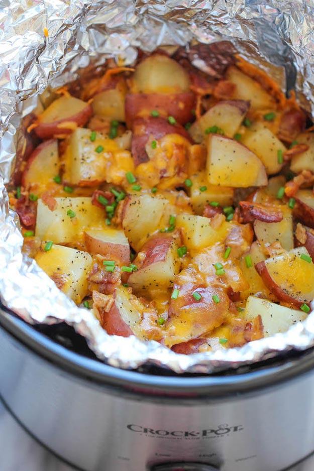 Crock Pot Potato Recipes  Easy Slow Cooker Recipes for Thanksgiving