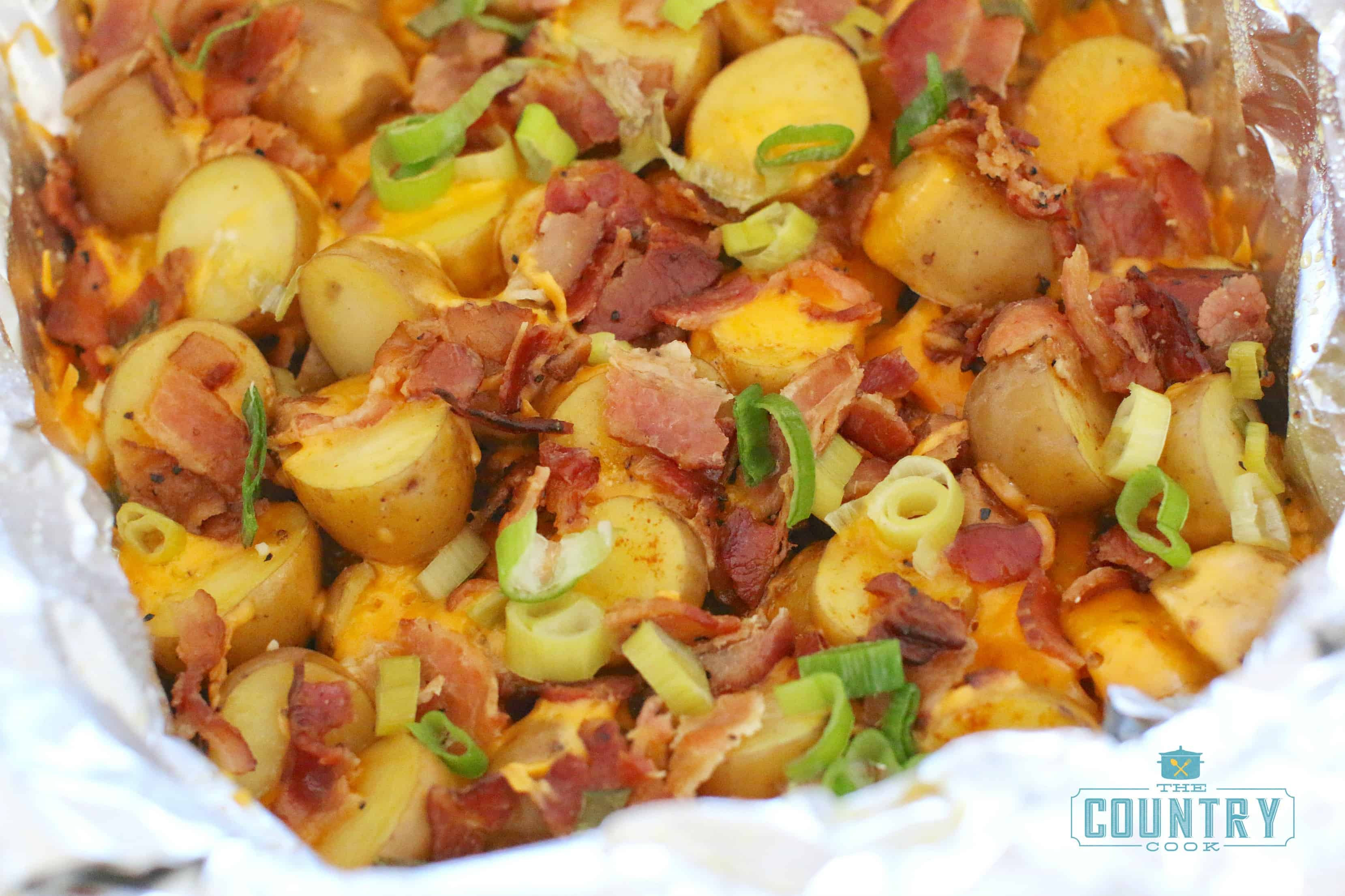 Crock Pot Potato Recipes  Crock Pot Loaded Little Potatoes The Country Cook