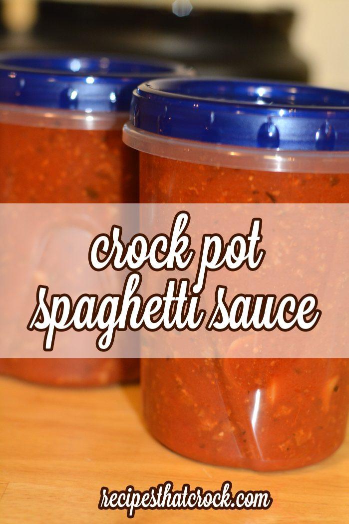 Crock Pot Spaghetti Sauce  Crock Pot Spaghetti Sauce Recipes That Crock