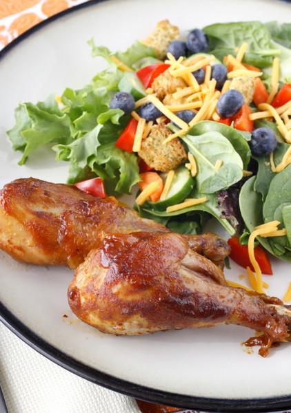 Crockpot Bbq Chicken Thighs  Crockpot Barbecued Chicken Legs
