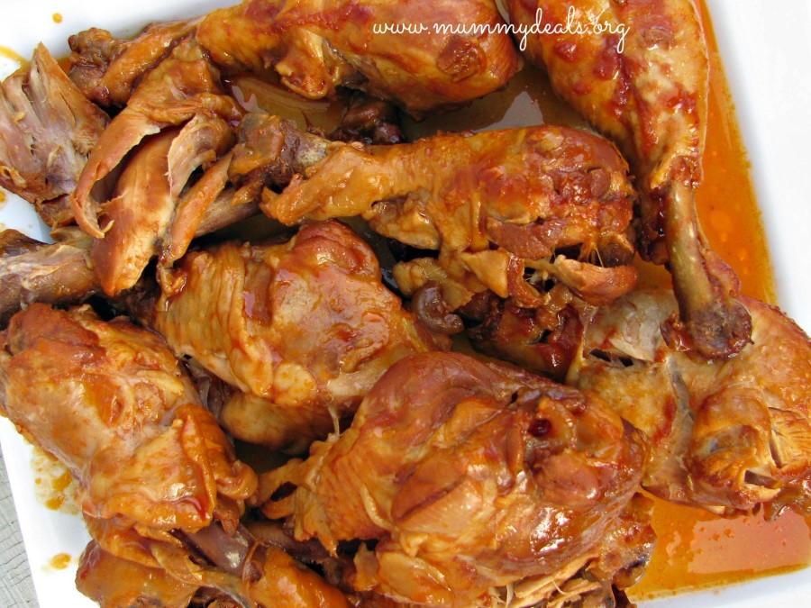 Crockpot Bbq Chicken Thighs  Slow Cooker BBQ Chicken Legs