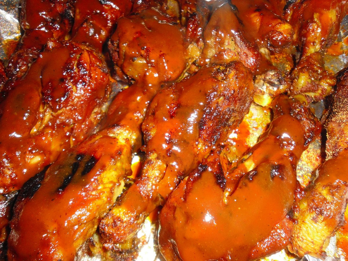 Crockpot Bbq Chicken Wings  Crockpot Bbq Chicken Wings BigOven