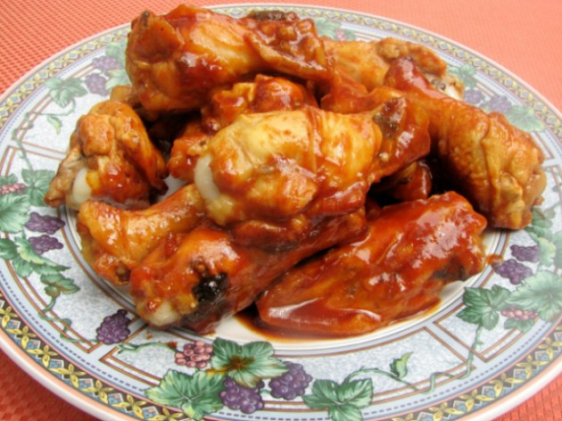 Crockpot Bbq Chicken Wings  Top Slow Cooker Recipes Chicken Wings With BBQ Sauce for