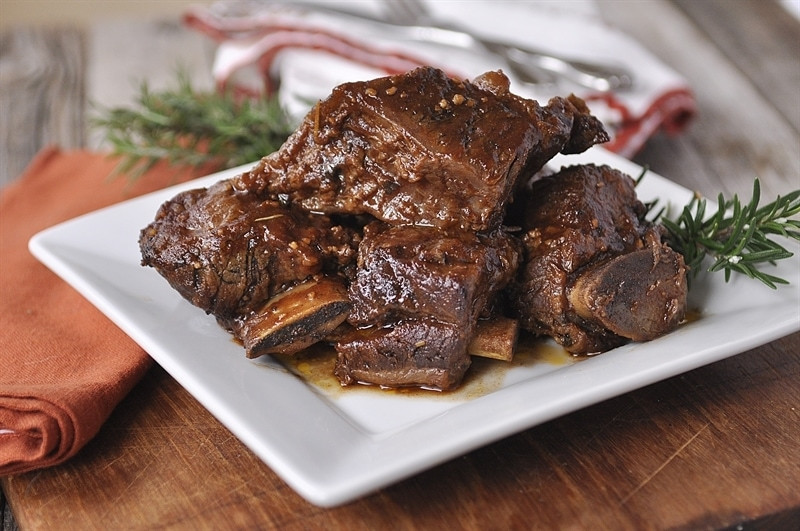 Crockpot Beef Short Ribs  Slow Cooker Balsamic Short Ribs Your Homebased Mom