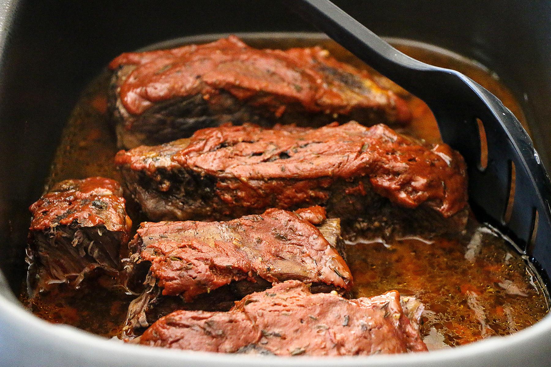 Crockpot Beef Short Ribs  Slow Cooker Short Ribs Anna Vocino