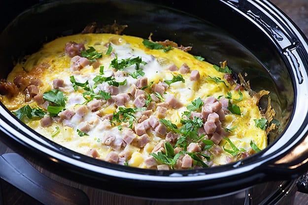 Crockpot Breakfast Potatoes  Slow Cooker Breakfast Casserole — Buns In My Oven