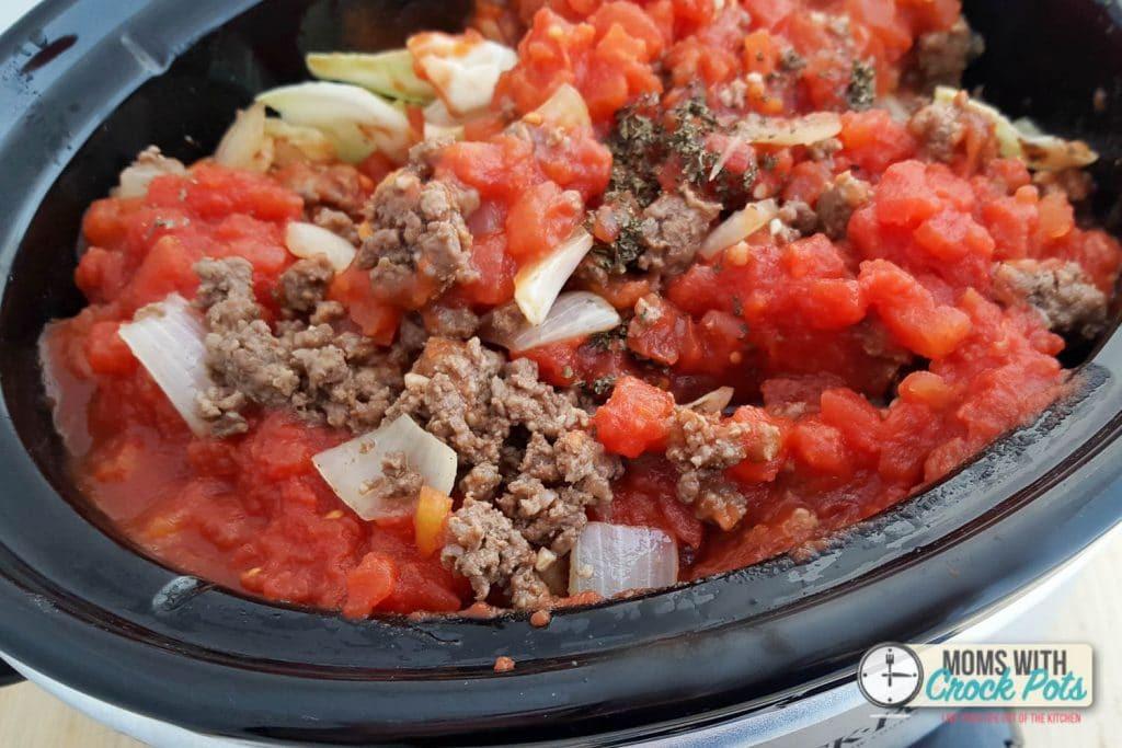 Crockpot Cabbage Soup  Crockpot Cabbage Roll Soup Moms with Crockpots