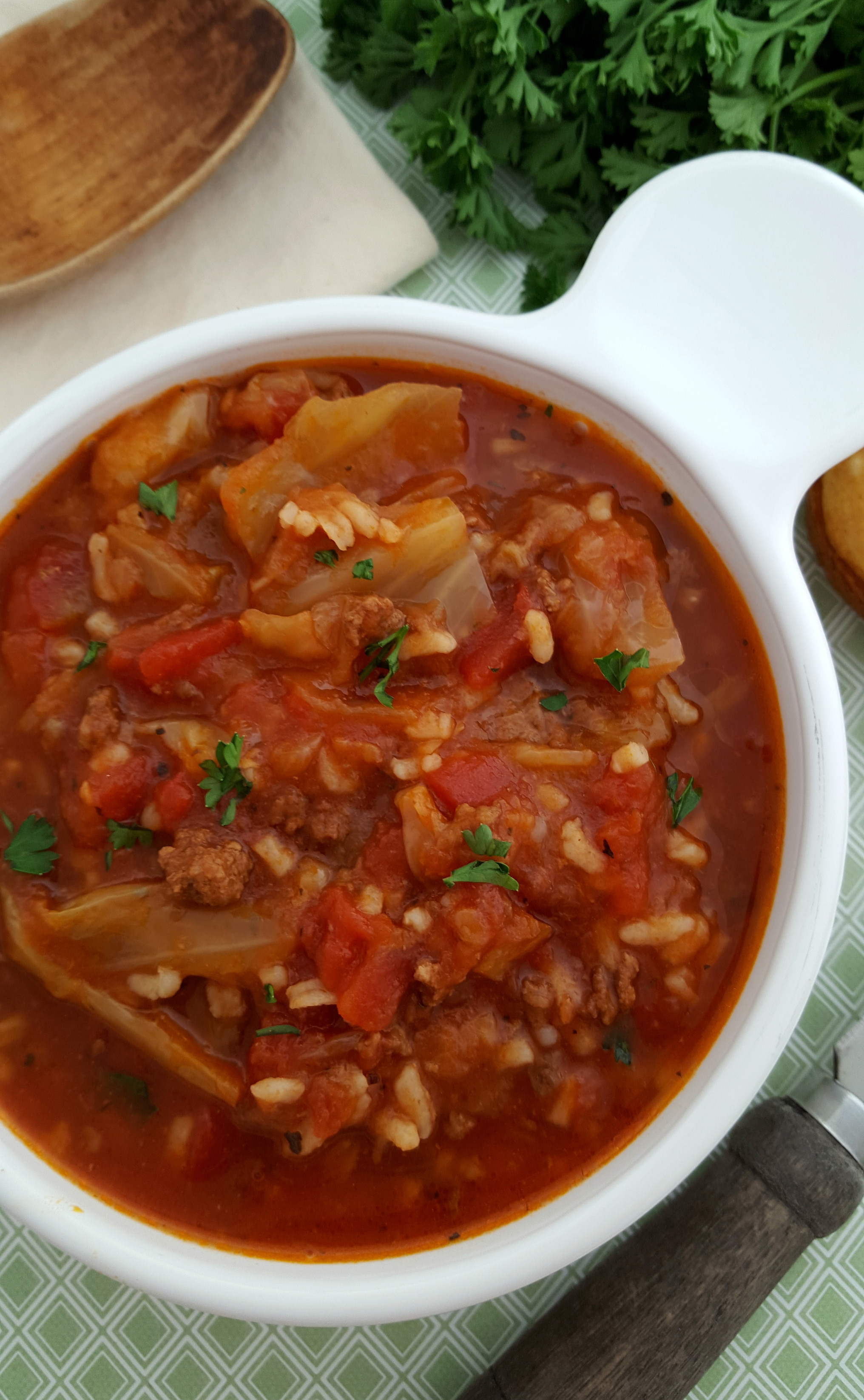 Crockpot Cabbage Soup  Crock Pot Cabbage Roll Soup A Spark of Creativity