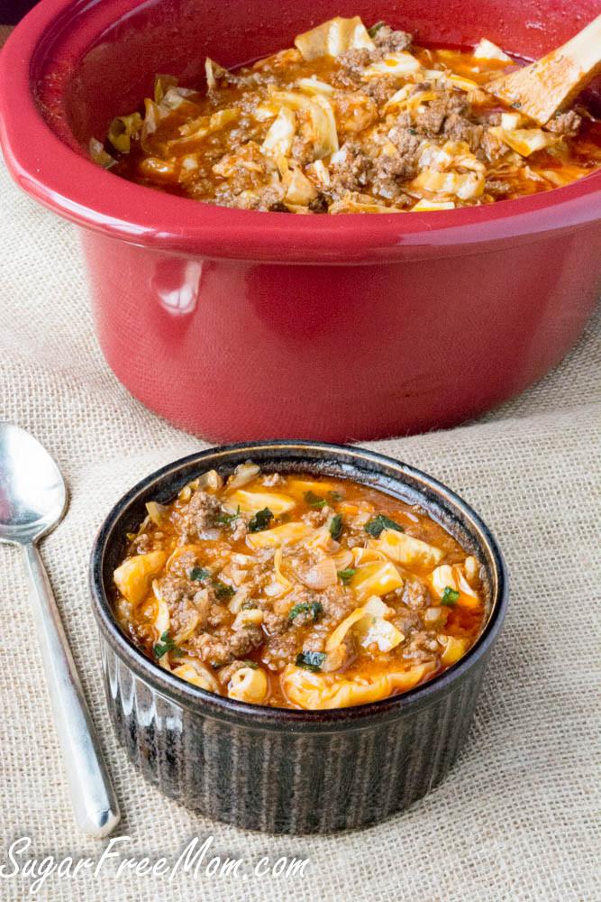 Crockpot Cabbage Soup  Menu Planning Monday 59