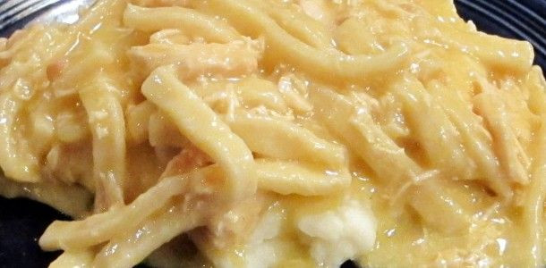 Crockpot Chicken And Noodles  Crock Pot Chicken and Noodles