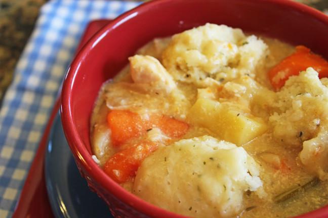 Crockpot Chicken Dumplings  Chicken and Dumplings Crock Pot