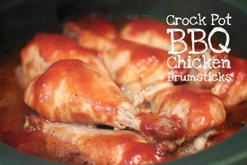 Crockpot Chicken Legs  Crock Pot BBQ Chicken Drumsticks Repeat Crafter Me
