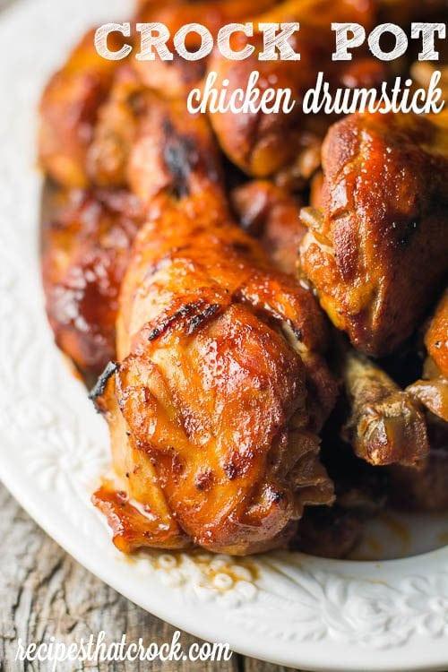 Crockpot Chicken Legs  Chicken Drumstick Recipes